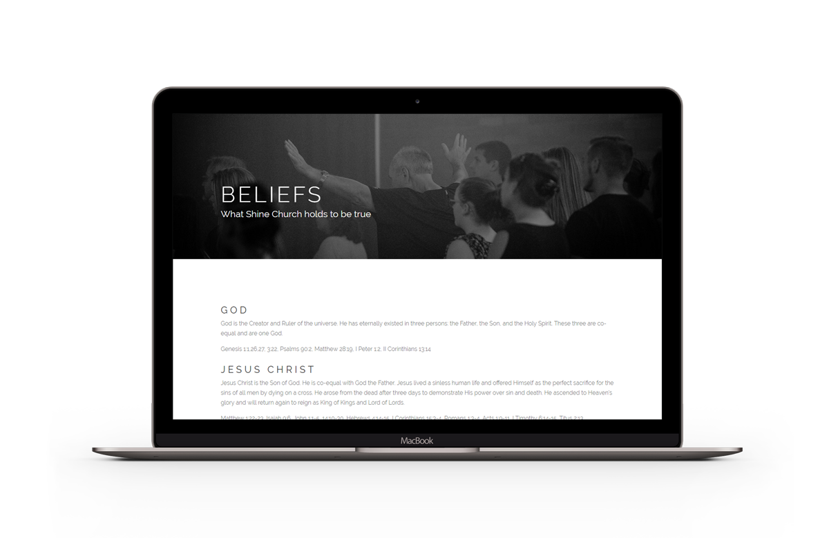 Shine-Church-Beliefs-Laptop